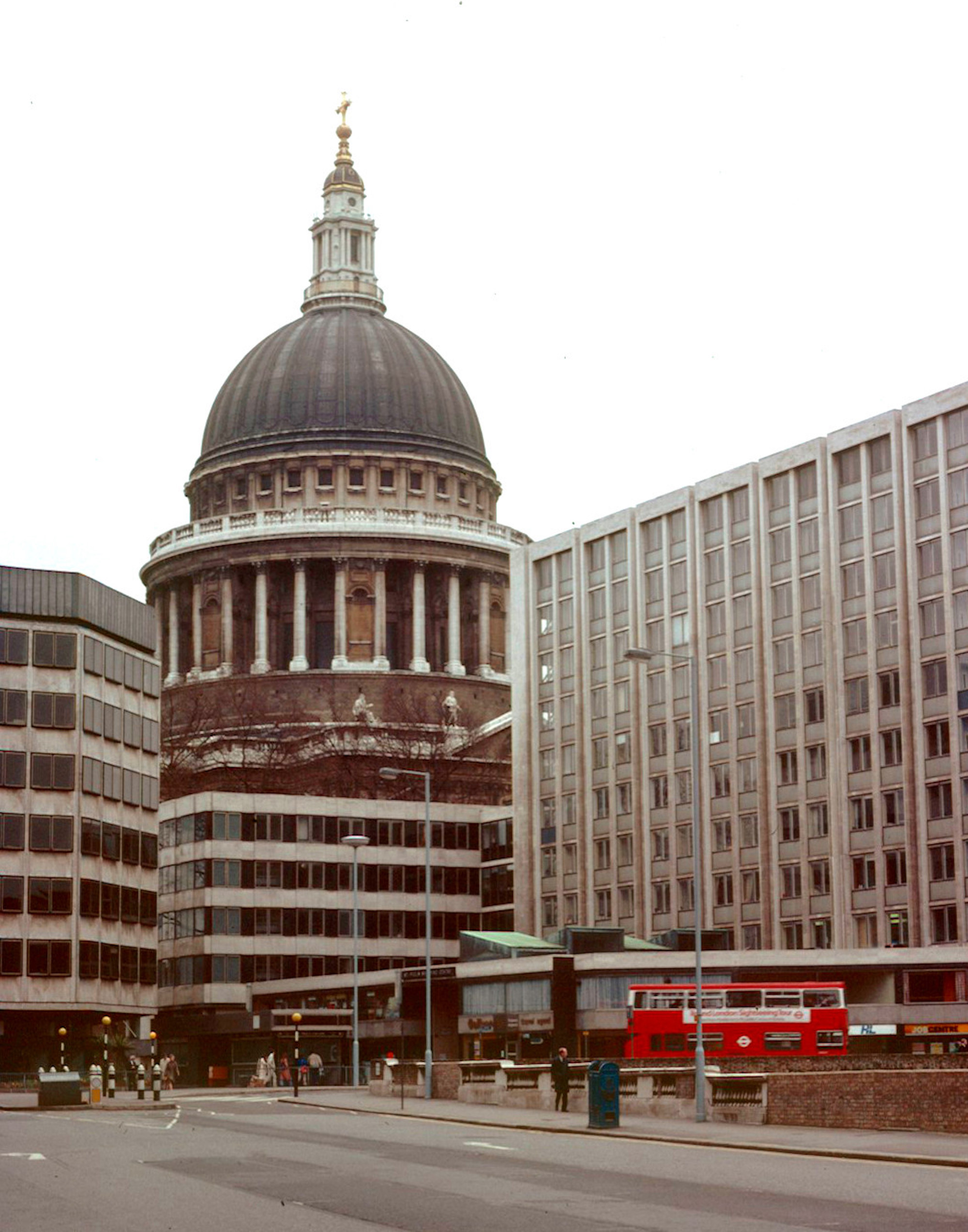 London 1979 St Paul's Cathedral