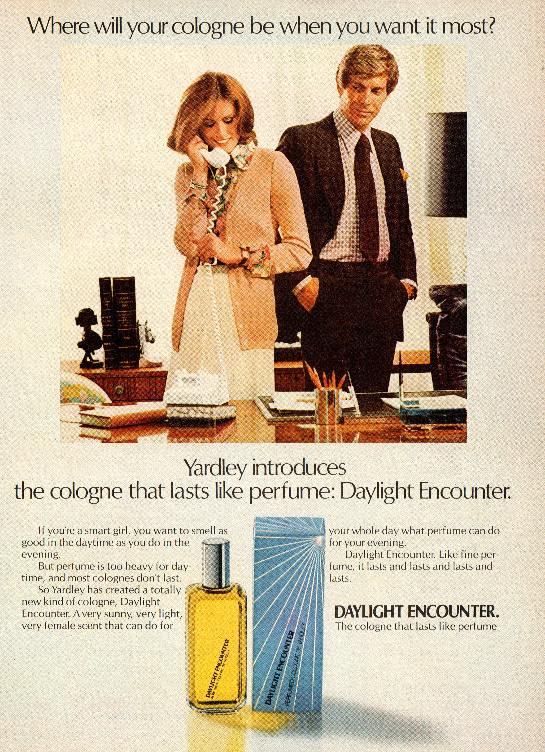Smells Like Only Yesterday Vintage Perfume Advertising