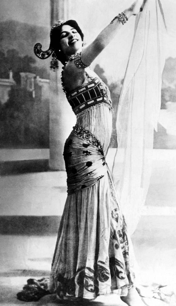 Mata Hari, Dutch exotic dancer, courtesan, and convicted spy (1876-1917)