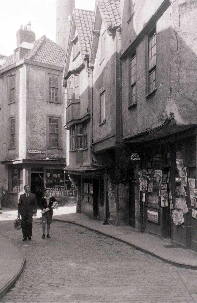 Near Christmas Steps, Bristol, 30 July 1958