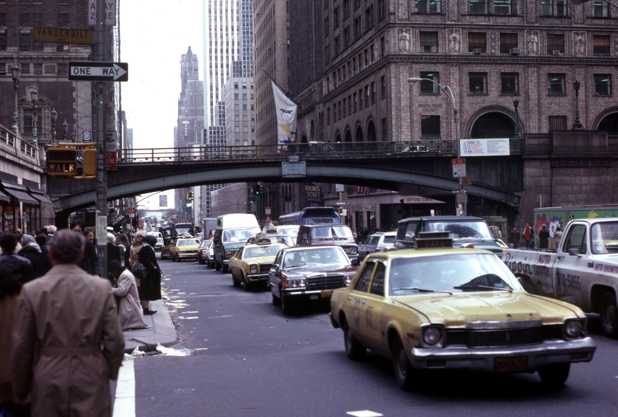 New York City 1979 - Outside Grand Central Station