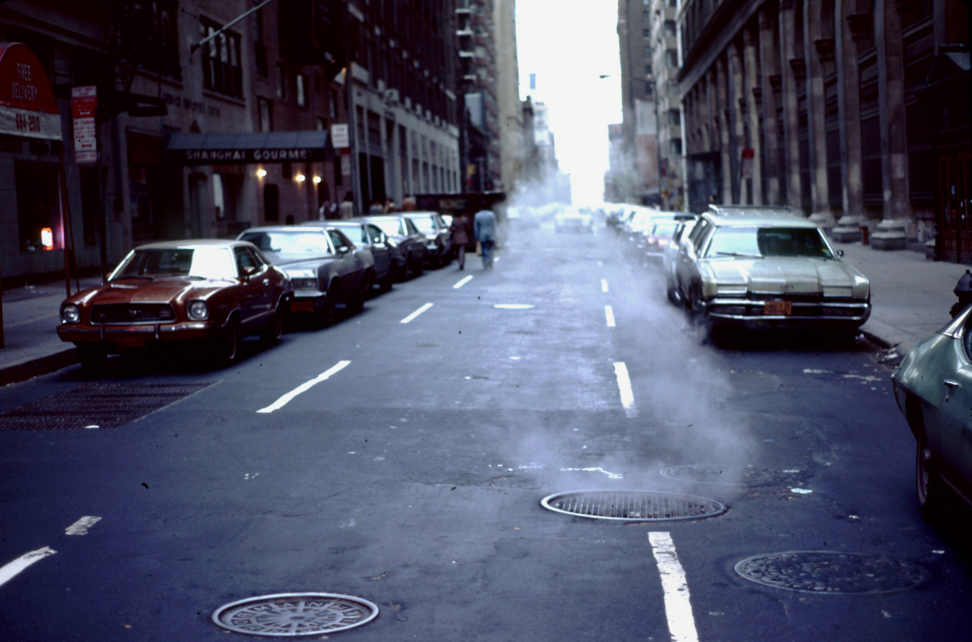 New York City street 1979