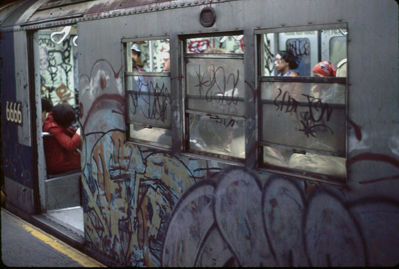 New York City subway in 1979