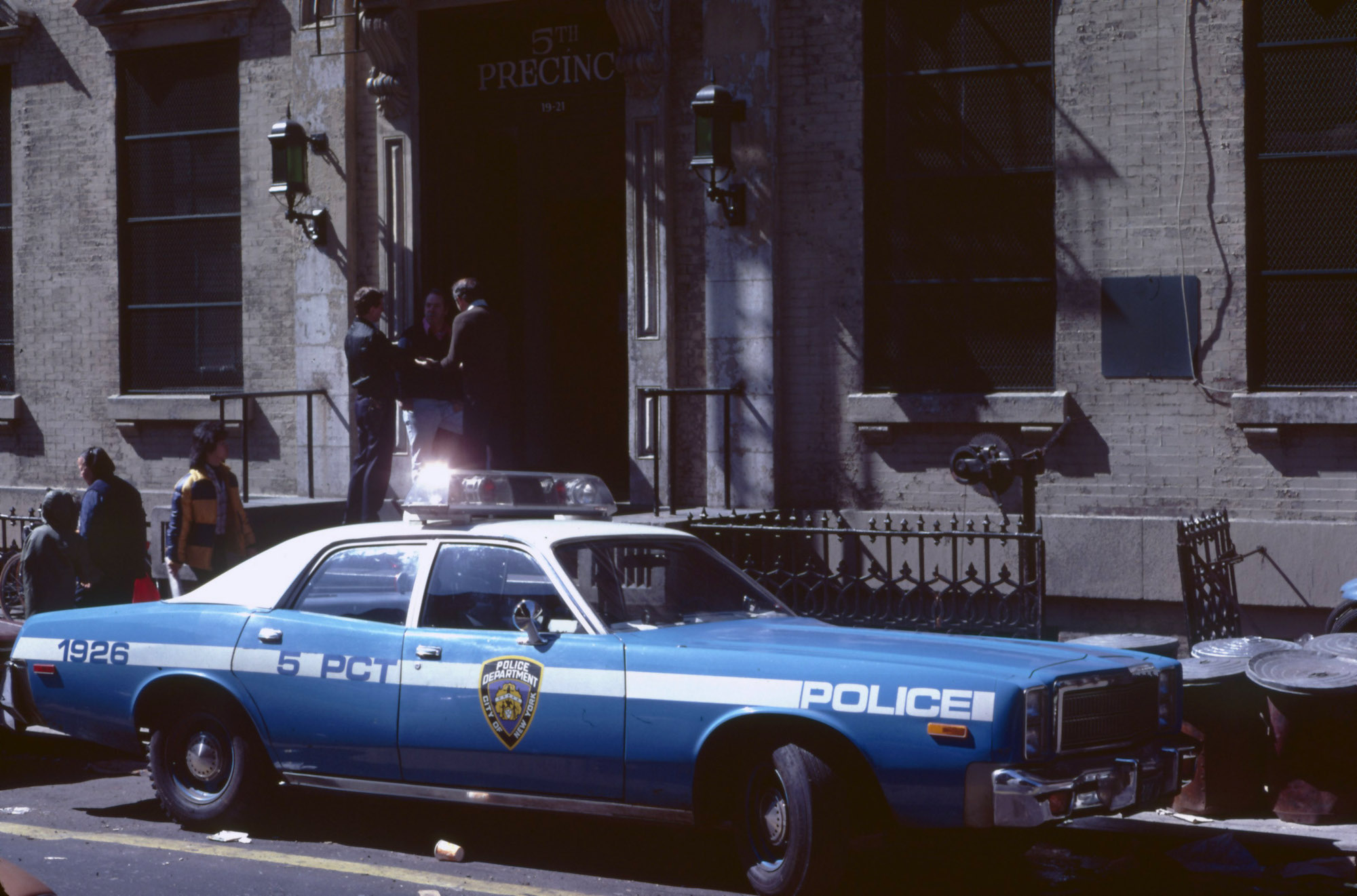 NYPD 5th Precinct in 1979