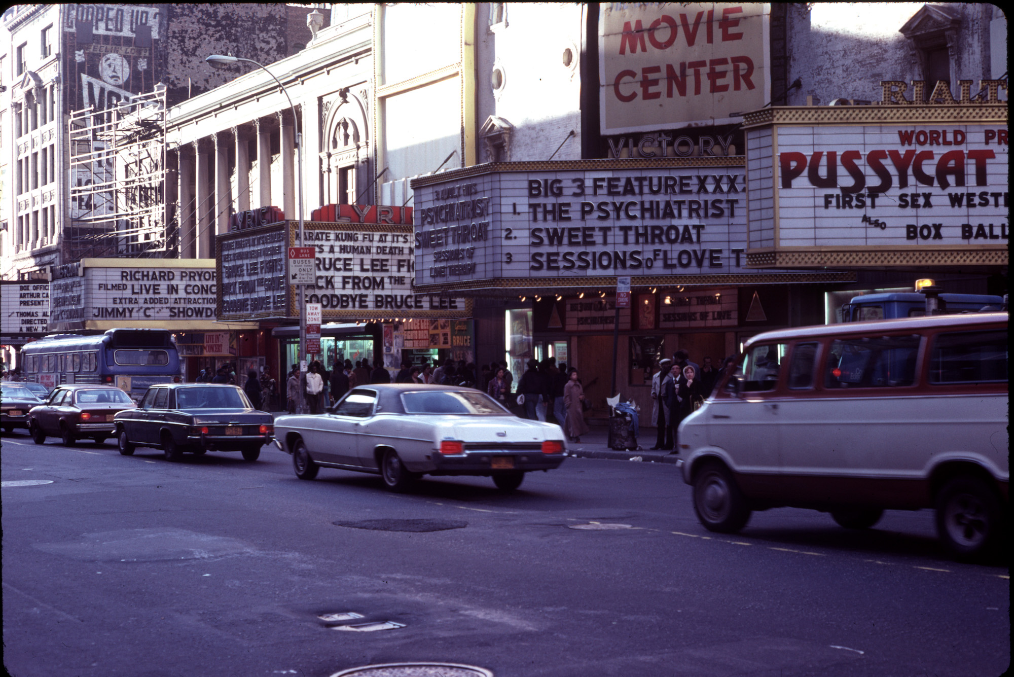 New York City 1979 - Broadway What's on?