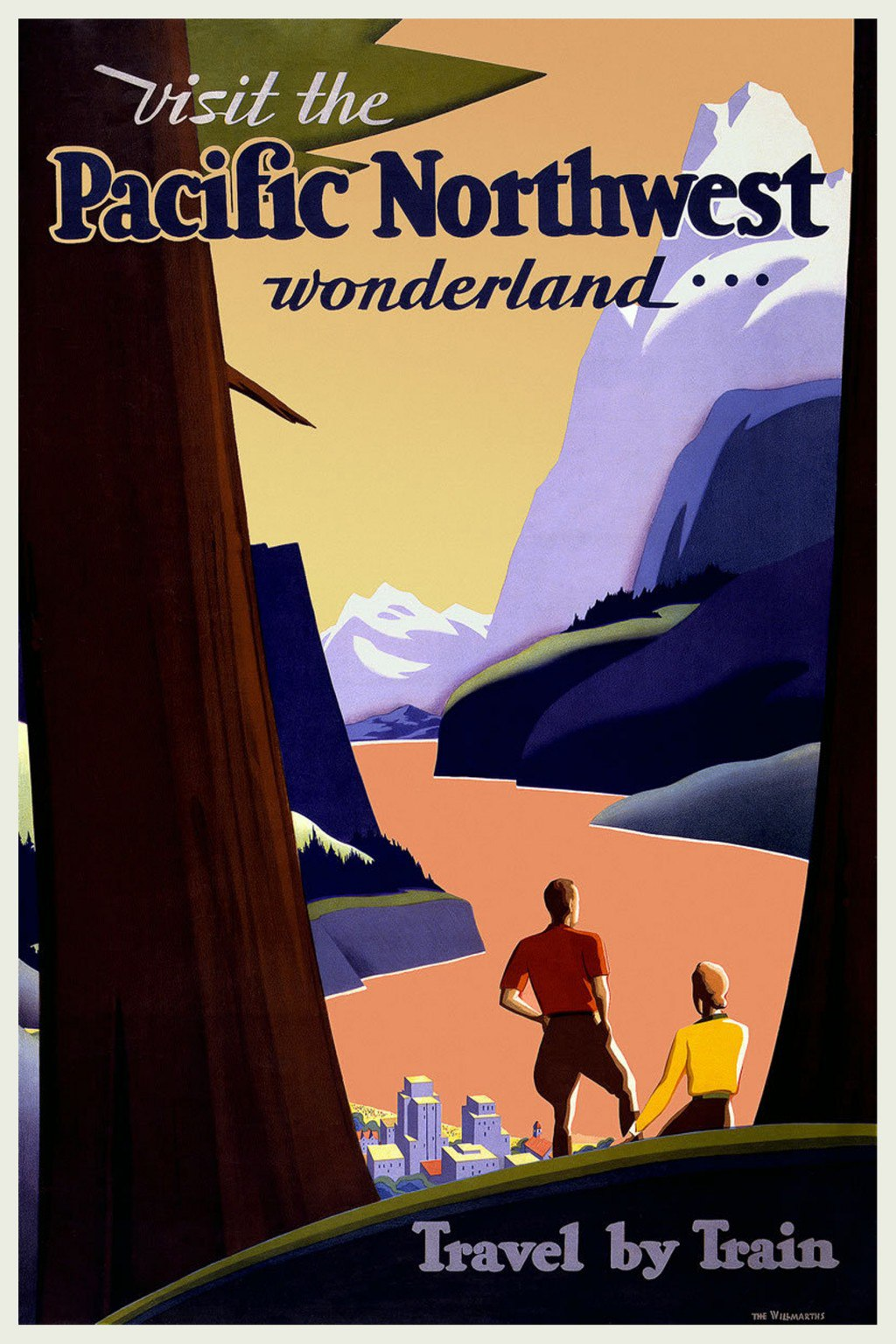 American travel posters