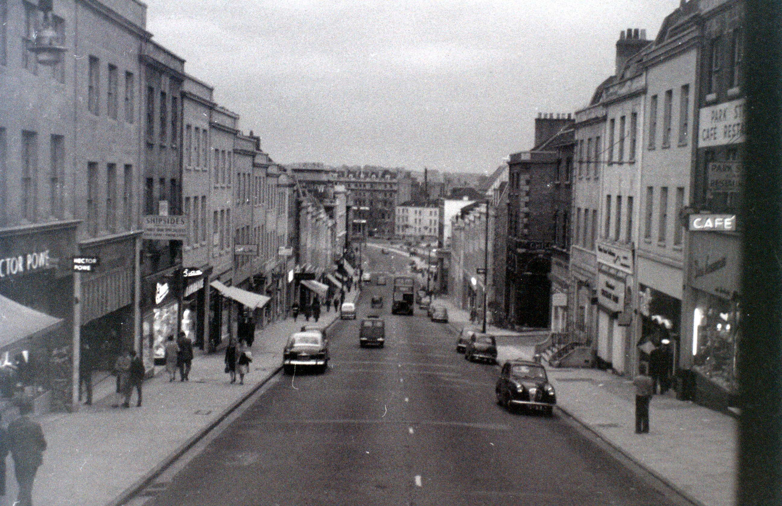 park street bristol 30 july 1958 flashbak