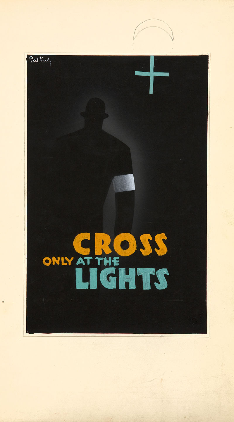 Pat Keely Only Cross at Lights Patrick Cokayne Keely