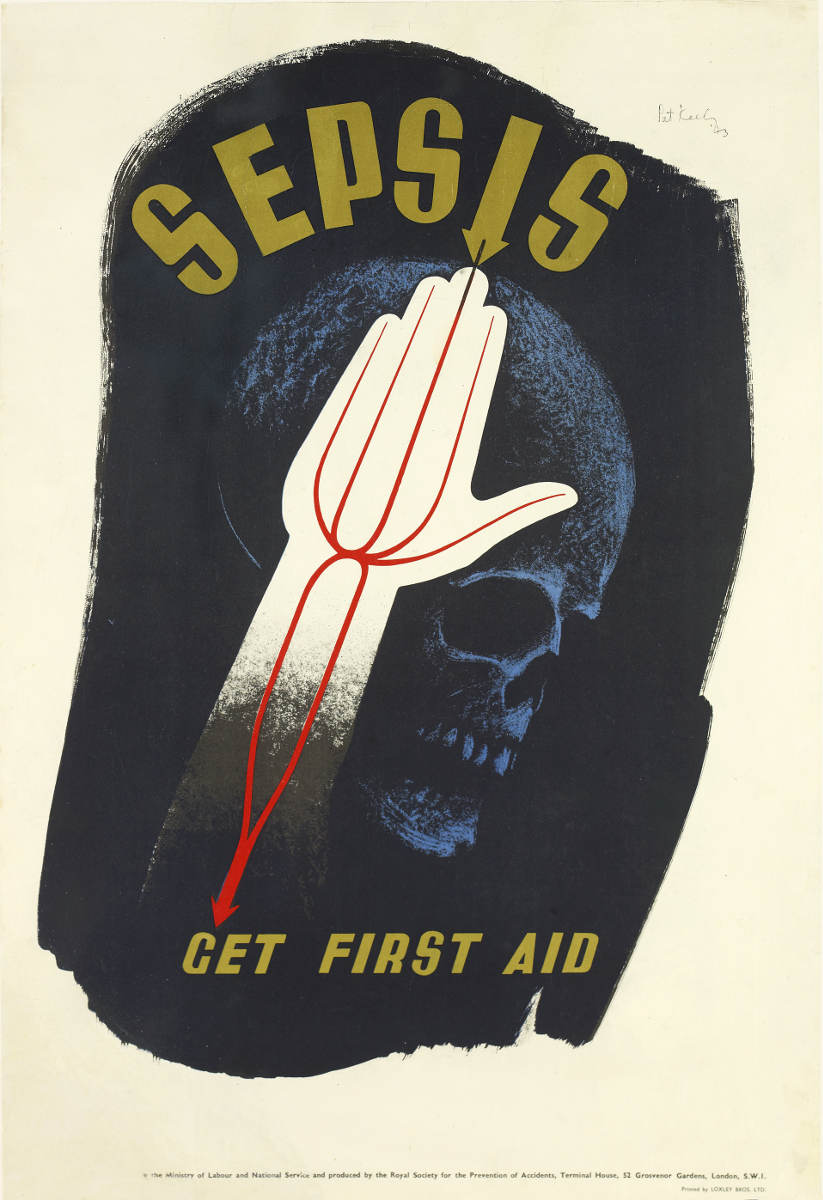 Sepsis Get First Aid 1943 Pat Keely Patrick Cokayne Keely