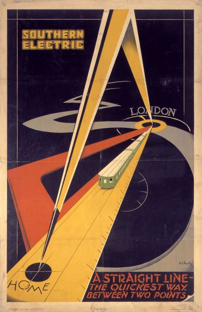 Ethe Quickest Way Between Two Points Sr Poster 1931