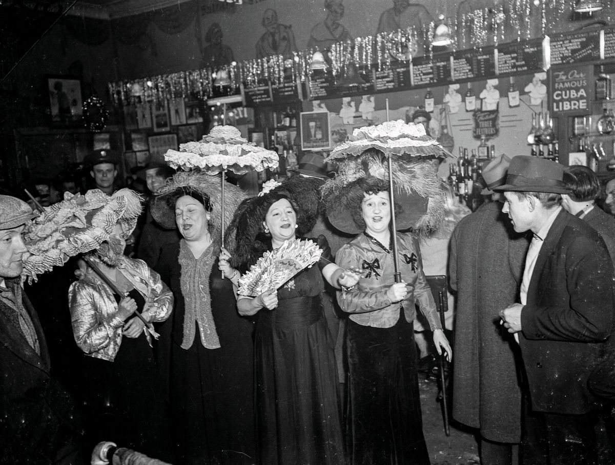 1934 Stork Club of the Bowery New York bar