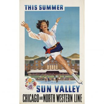 Awesome 20th Century American Travel Posters