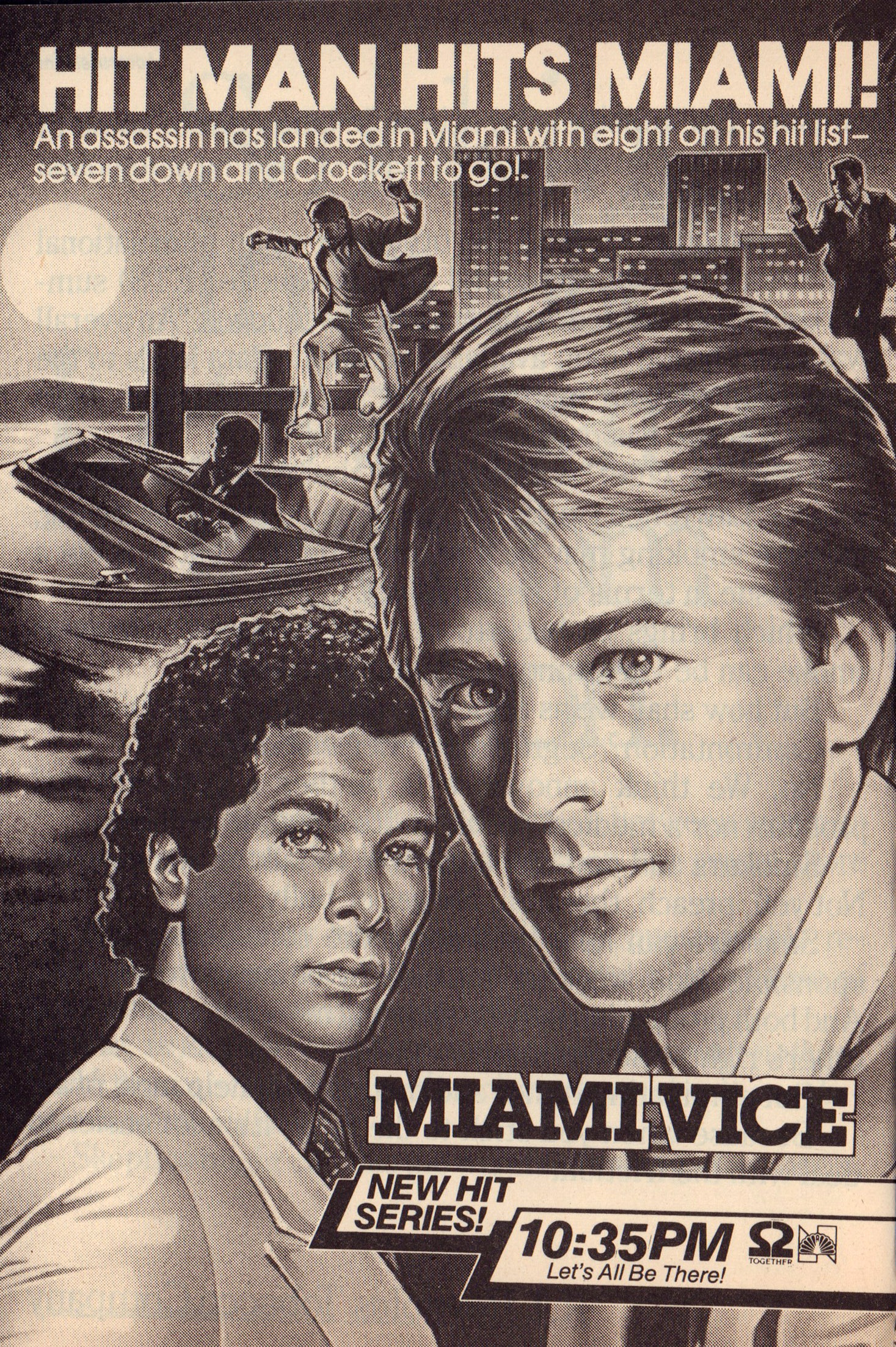 Miami Vice TV Guide Oct 20_26 1984