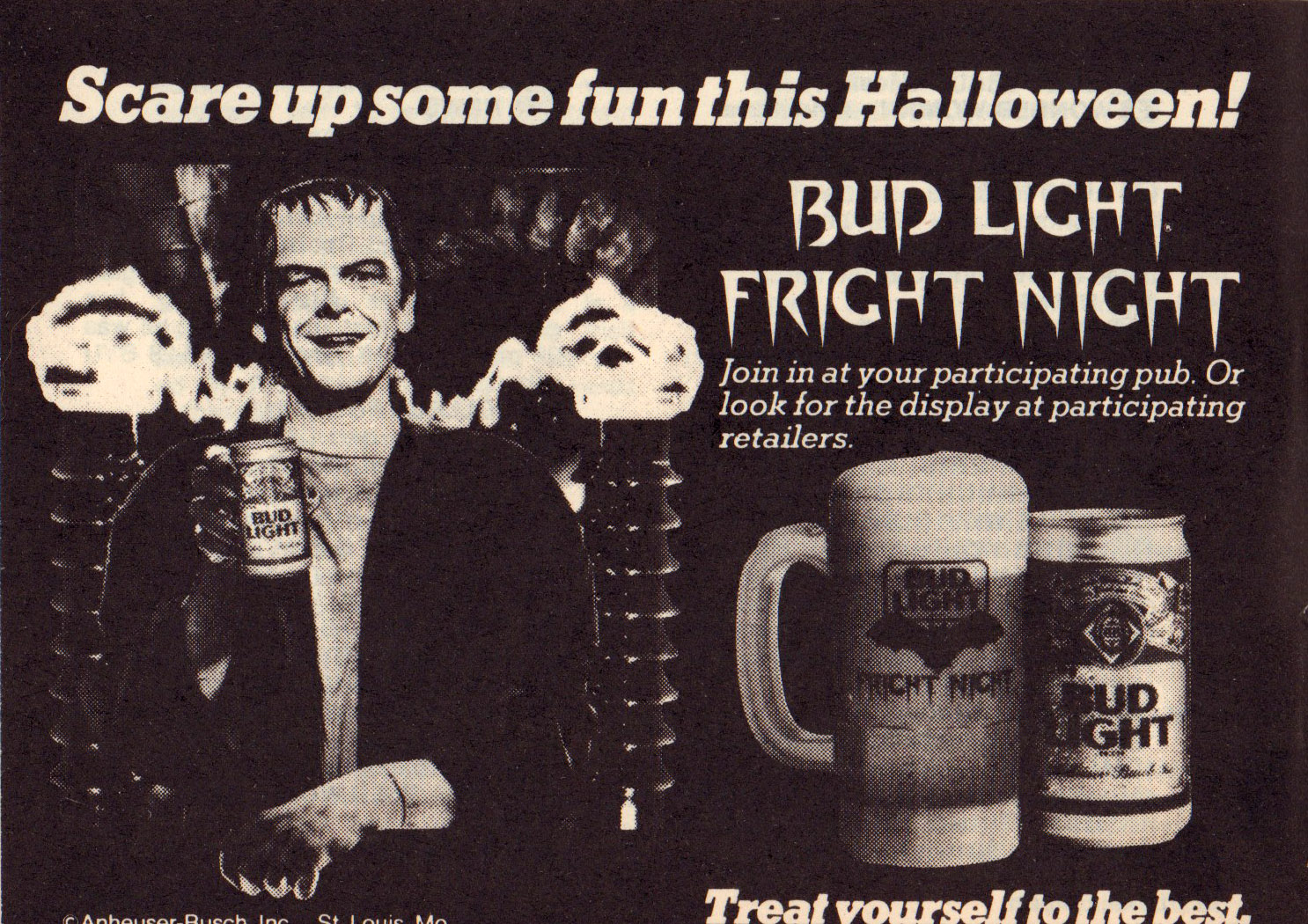 TV Guide Oct 20_26 1984 Bud Light advert