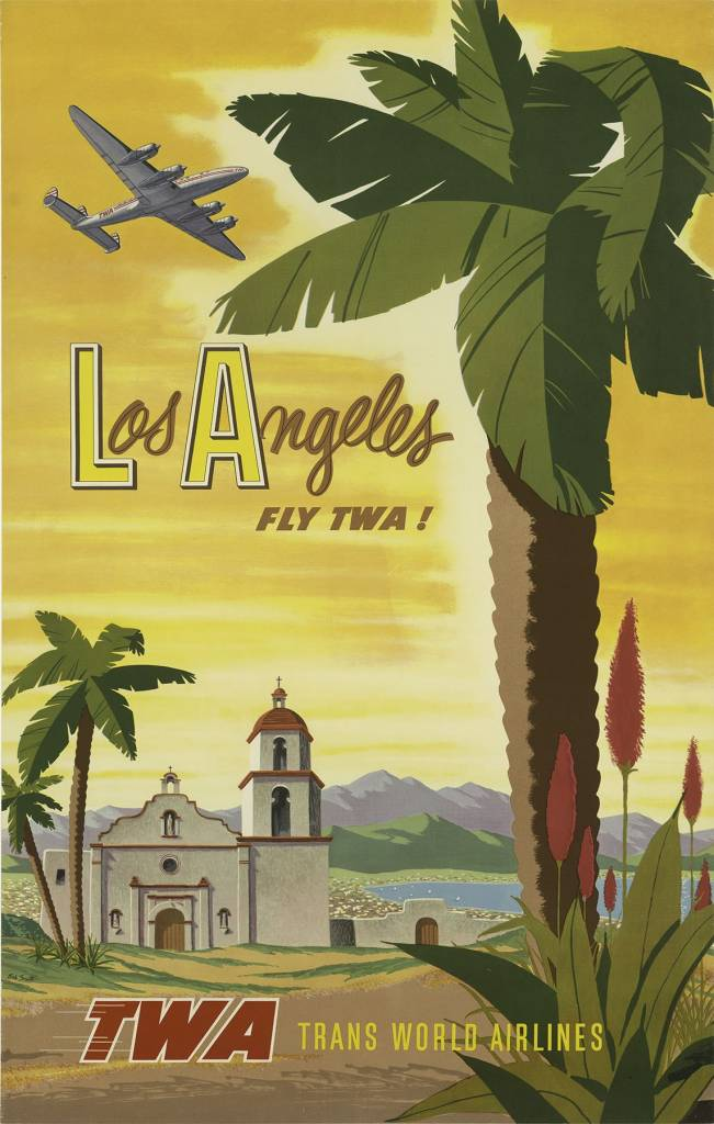 American travel poster
