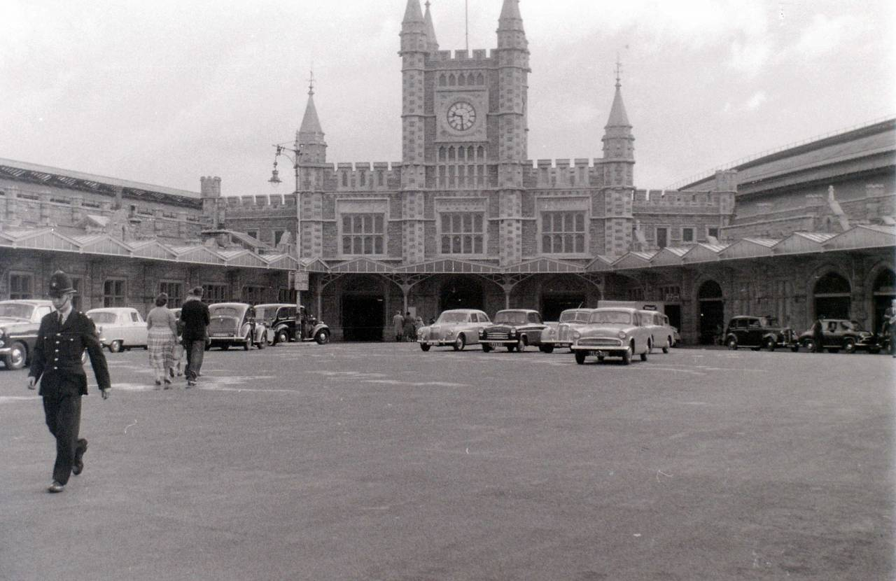 Temple Meads Station, Bristol, 30 July 1958