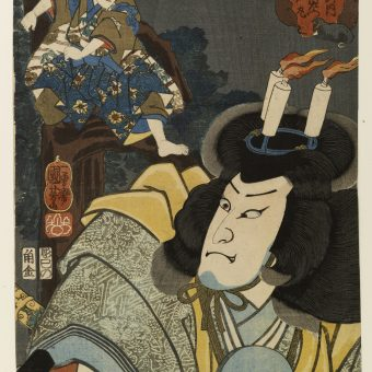 Death, Ghosts And Monsters: Utagawa Kuniyoshi's 19th Century Woodcuts
