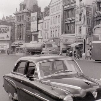 Marvellous Pictures of a Day trip to Bristol in July 1958