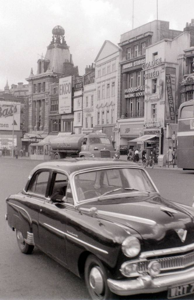 Vauxhall Cresta in Bristol, 30 July 1958