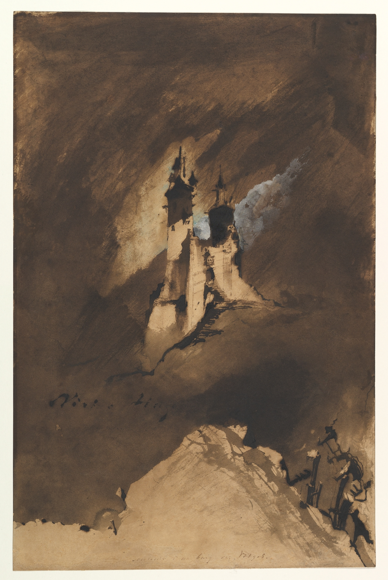Victor Hugo S Blotto Drawings In Coal Dust And Blood