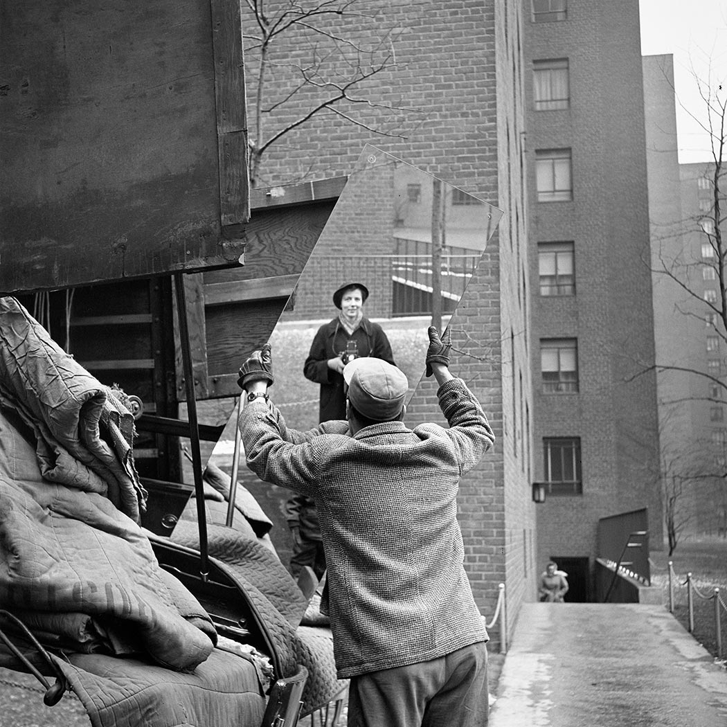 Vivian Maier self-portrait 1