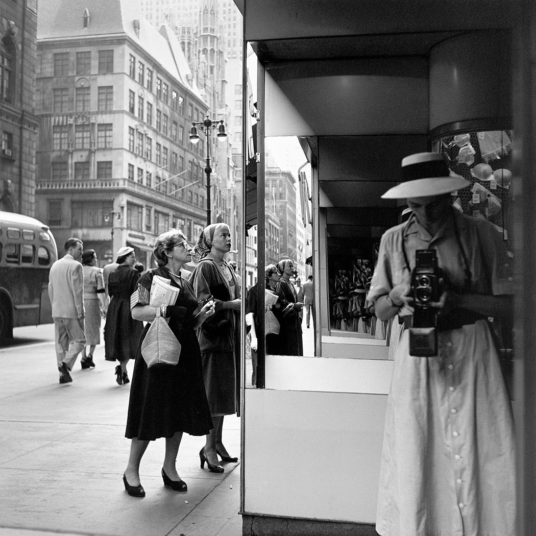 Vivian Maier self-portrait 12