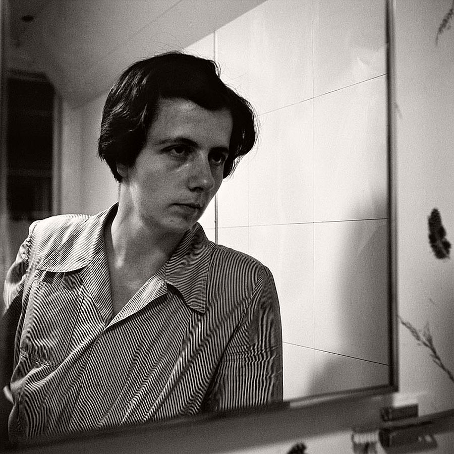 Vivian Maier self-portrait 13
