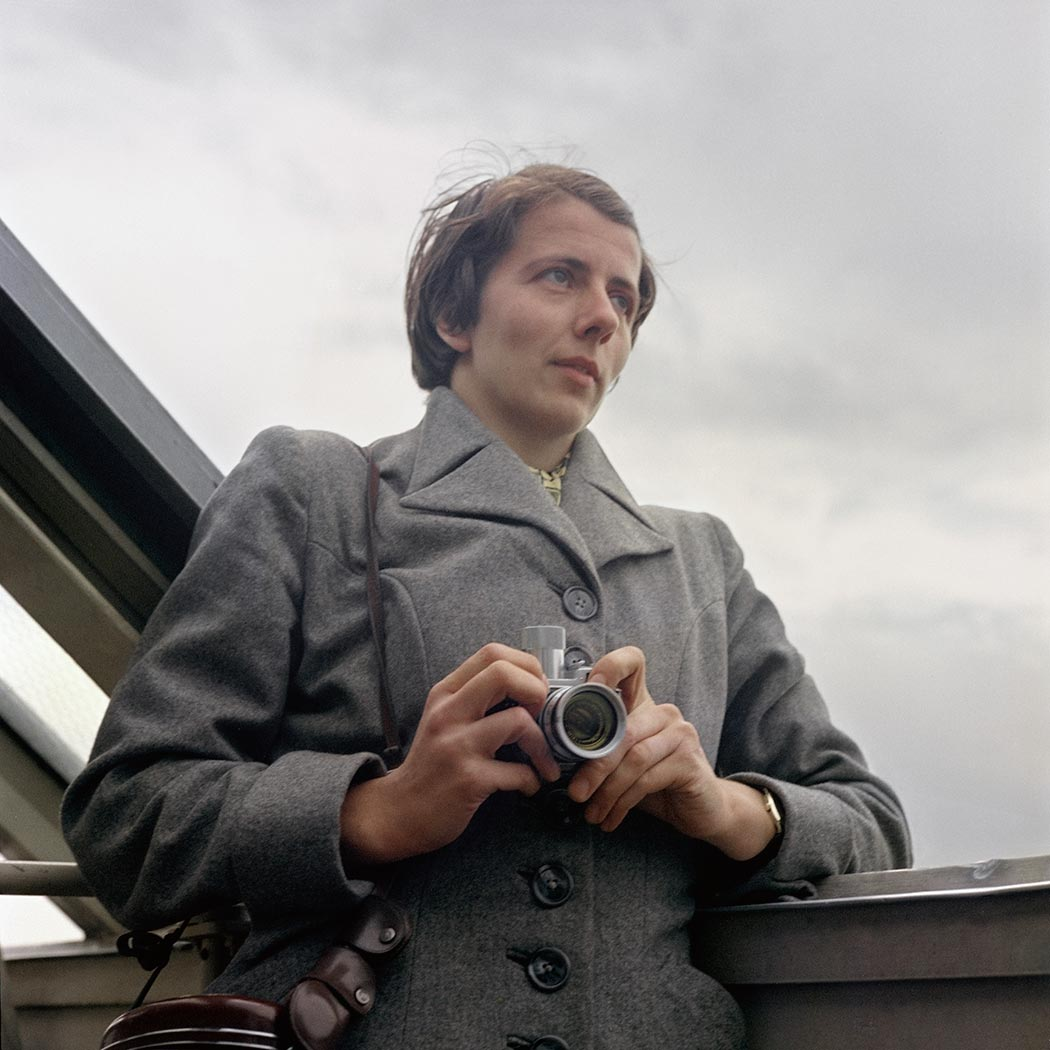 Vivian Maier self-portrait 15