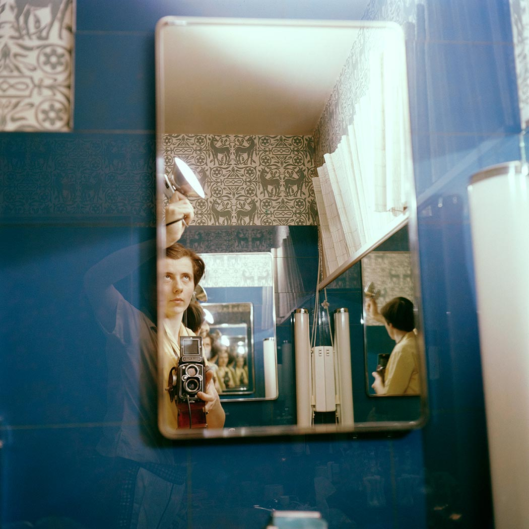 Vivian Maier self-portrait 16