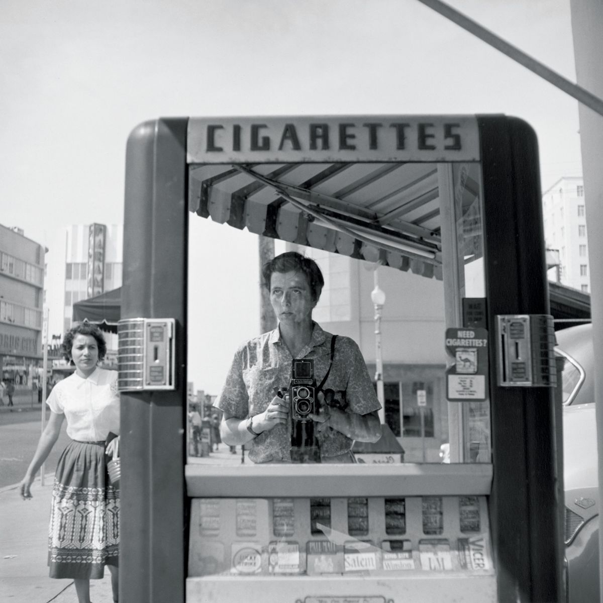 Vivian Maier self-portrait 3