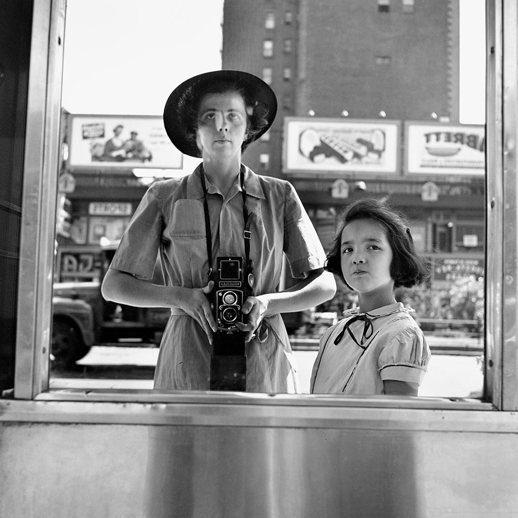 Vivian Maier self-portrait 4