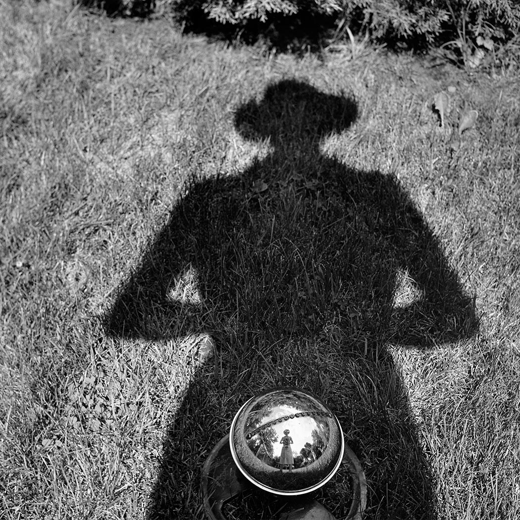 Vivian Maier self-portrait 7