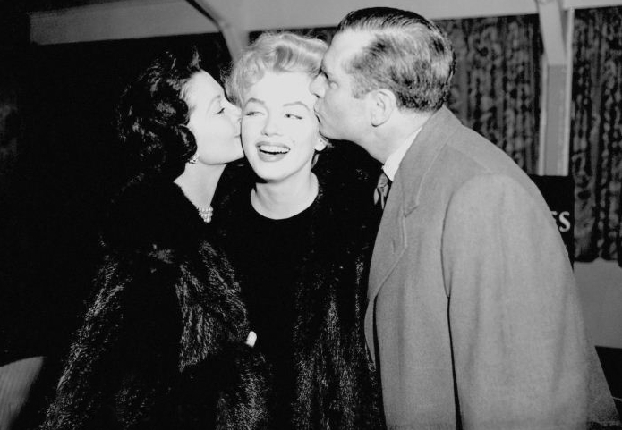 Vivien, Marilyn and Larry