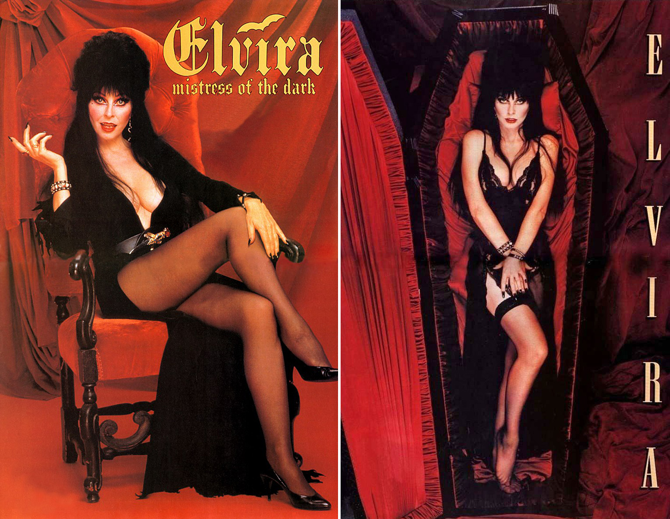 Elvira mistress of the dark nude