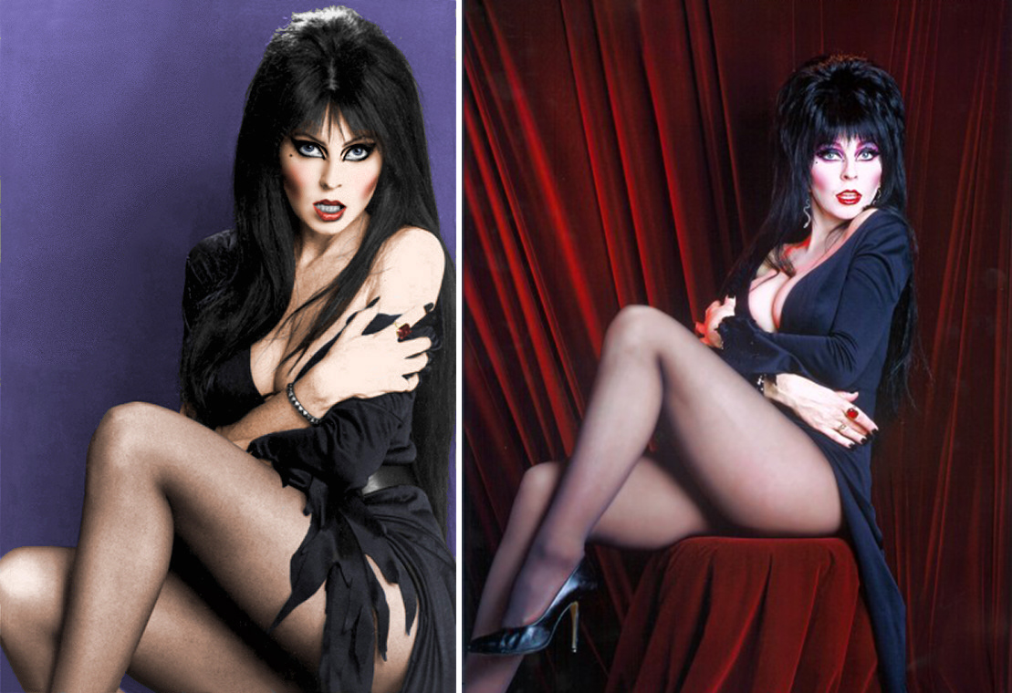 Gene Simmons Nude elvira: an illustrated history of the mistress of the dark