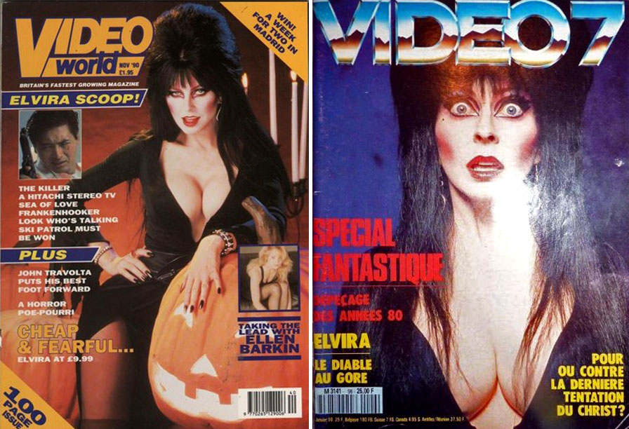 elvira magazine covers