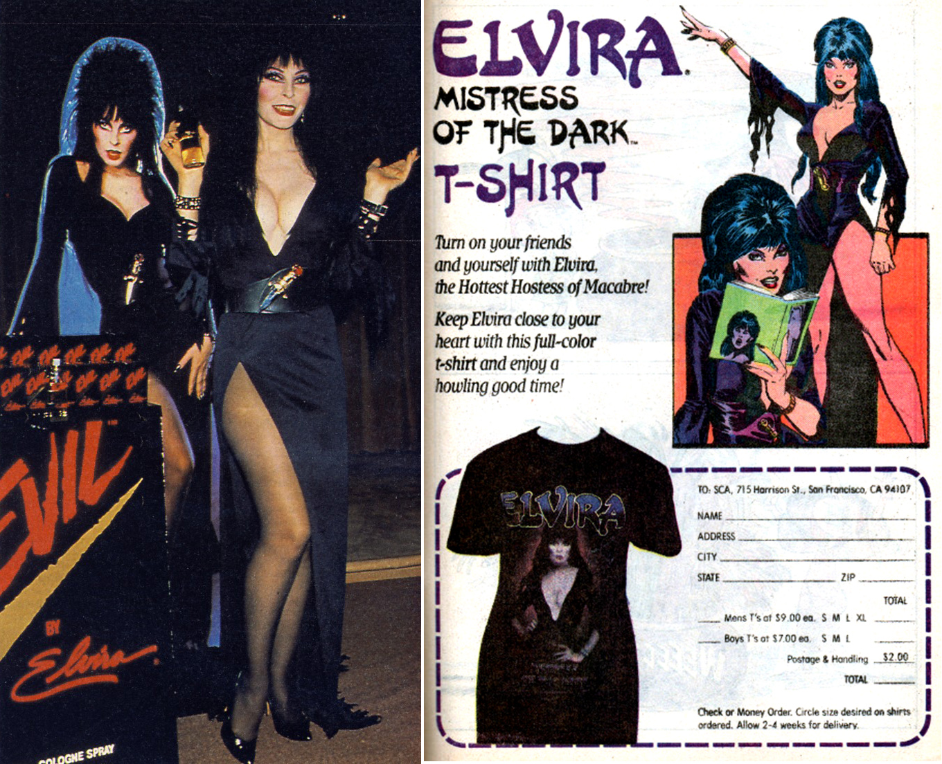 elvira merch 2