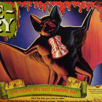 He's the Bat You'll Love to Hate: Remembering Mattel's Gre-gory (1980)