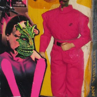 They're Not What They Appear to Be: Remembering LJN's Enemy Visitor Action Figure (1984)