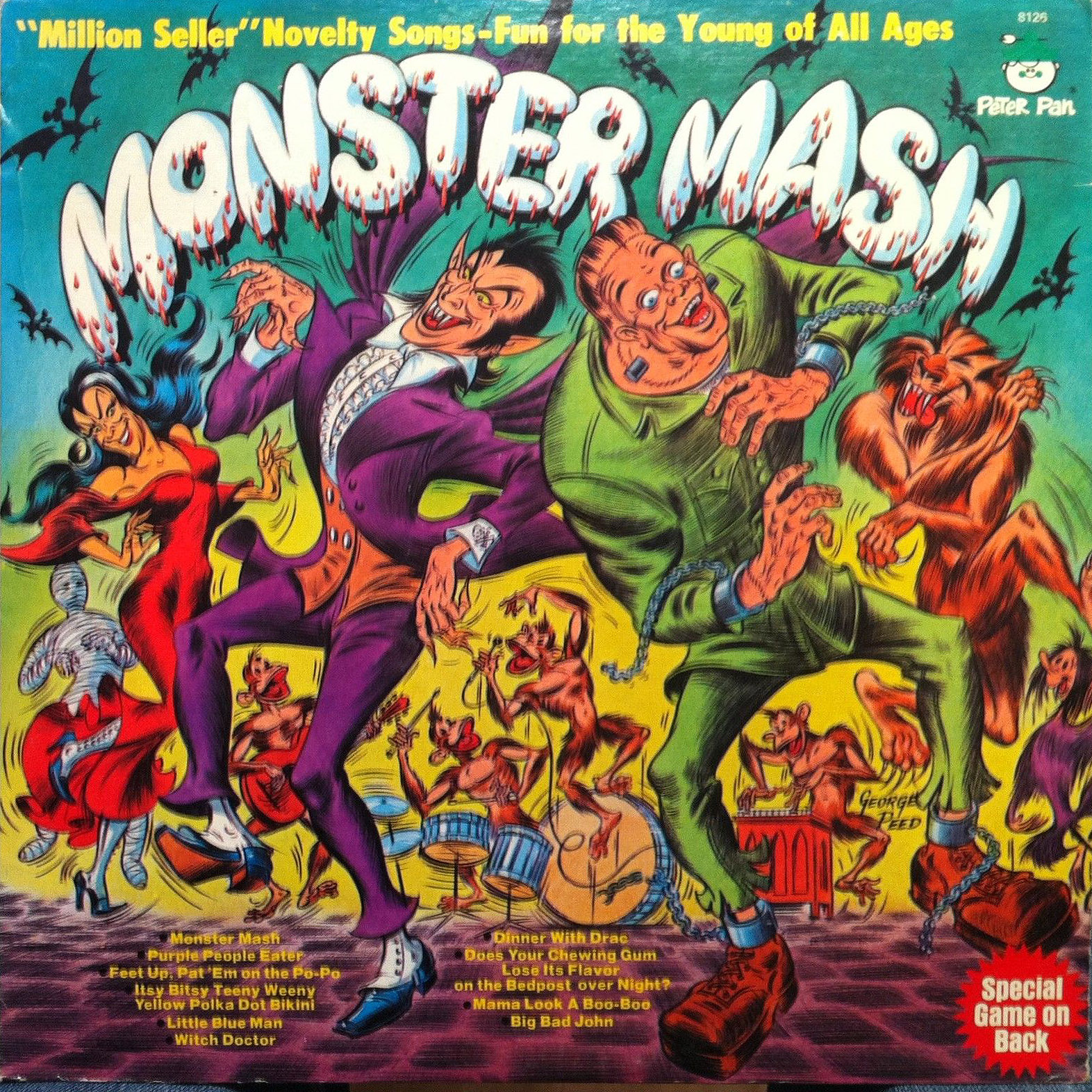 beyond 'monster mash': 20 novelty songs from the mid-century horror