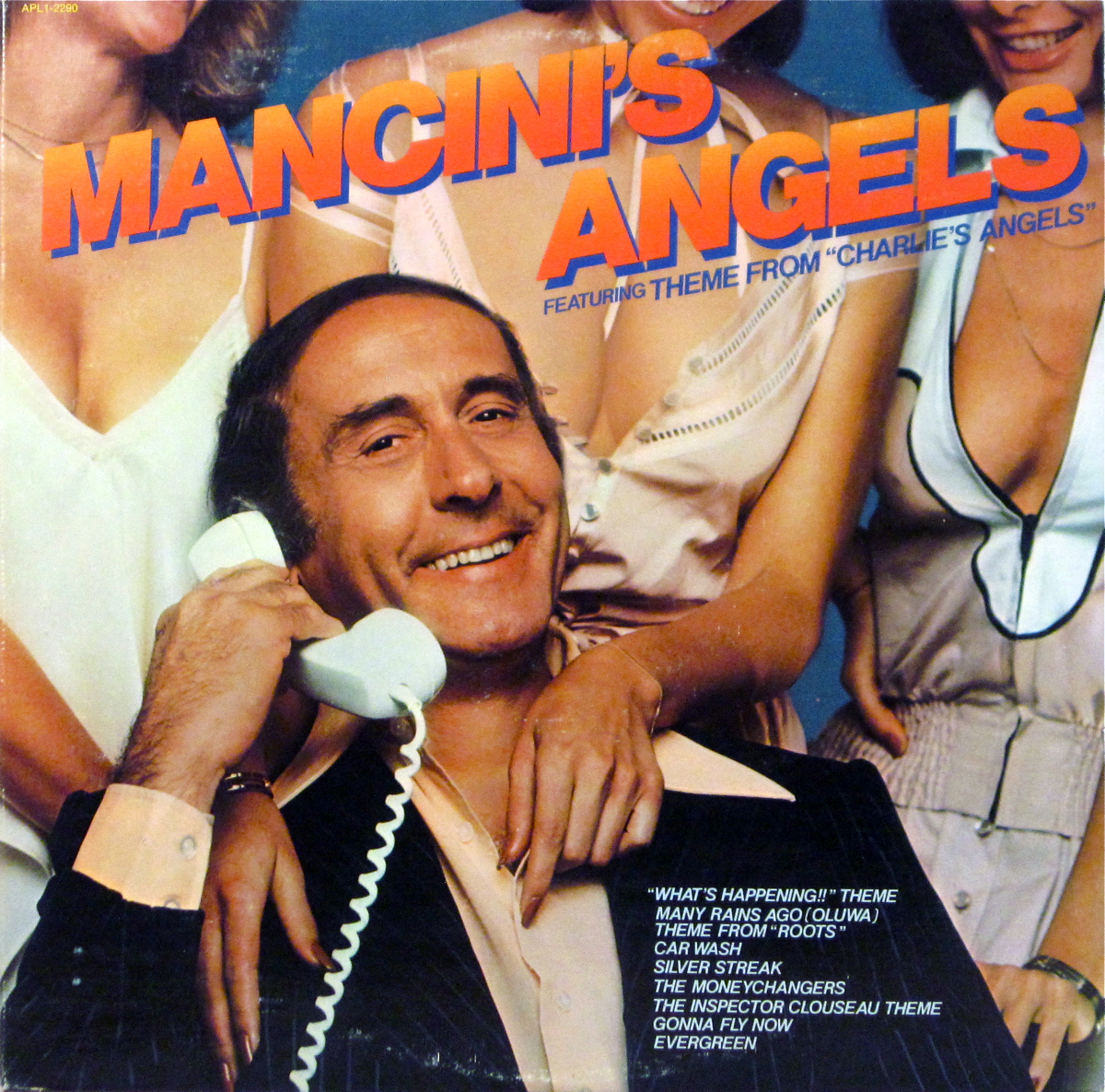mancinis angels album cover