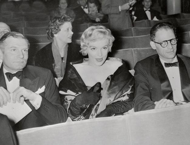 Marilyn at the Comedy Theatre, 11th October 1956.