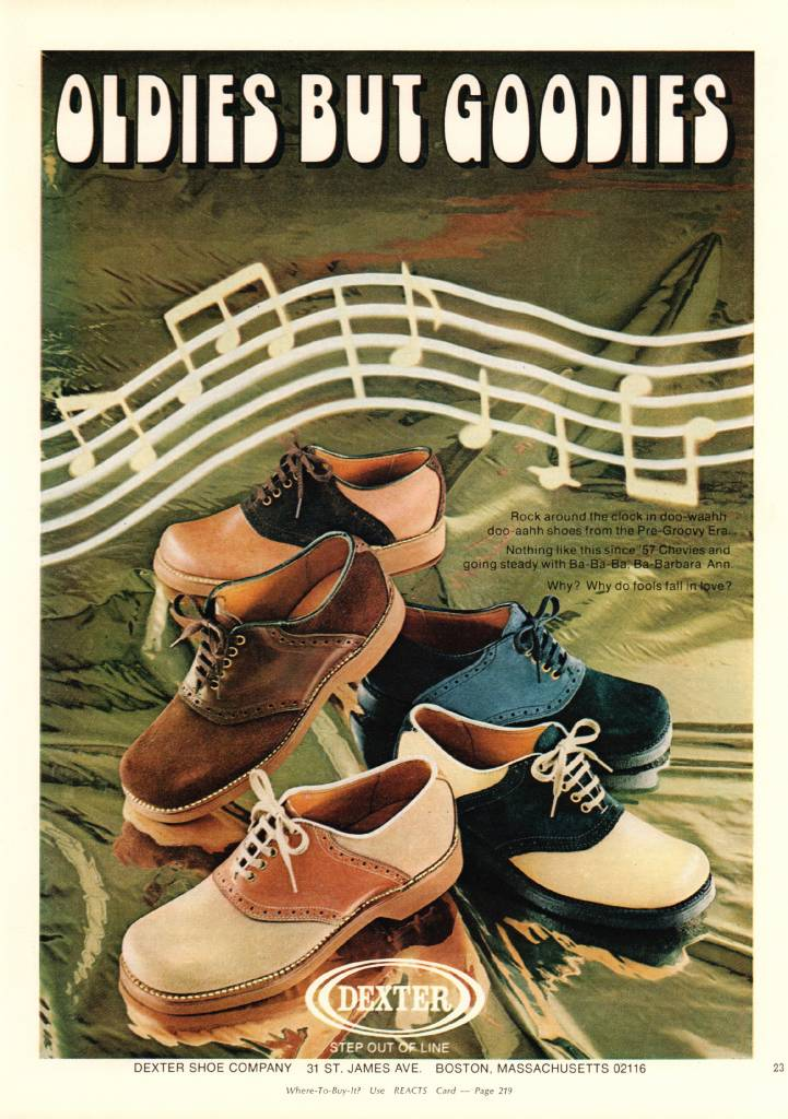 Dexter Shoes, September 1972