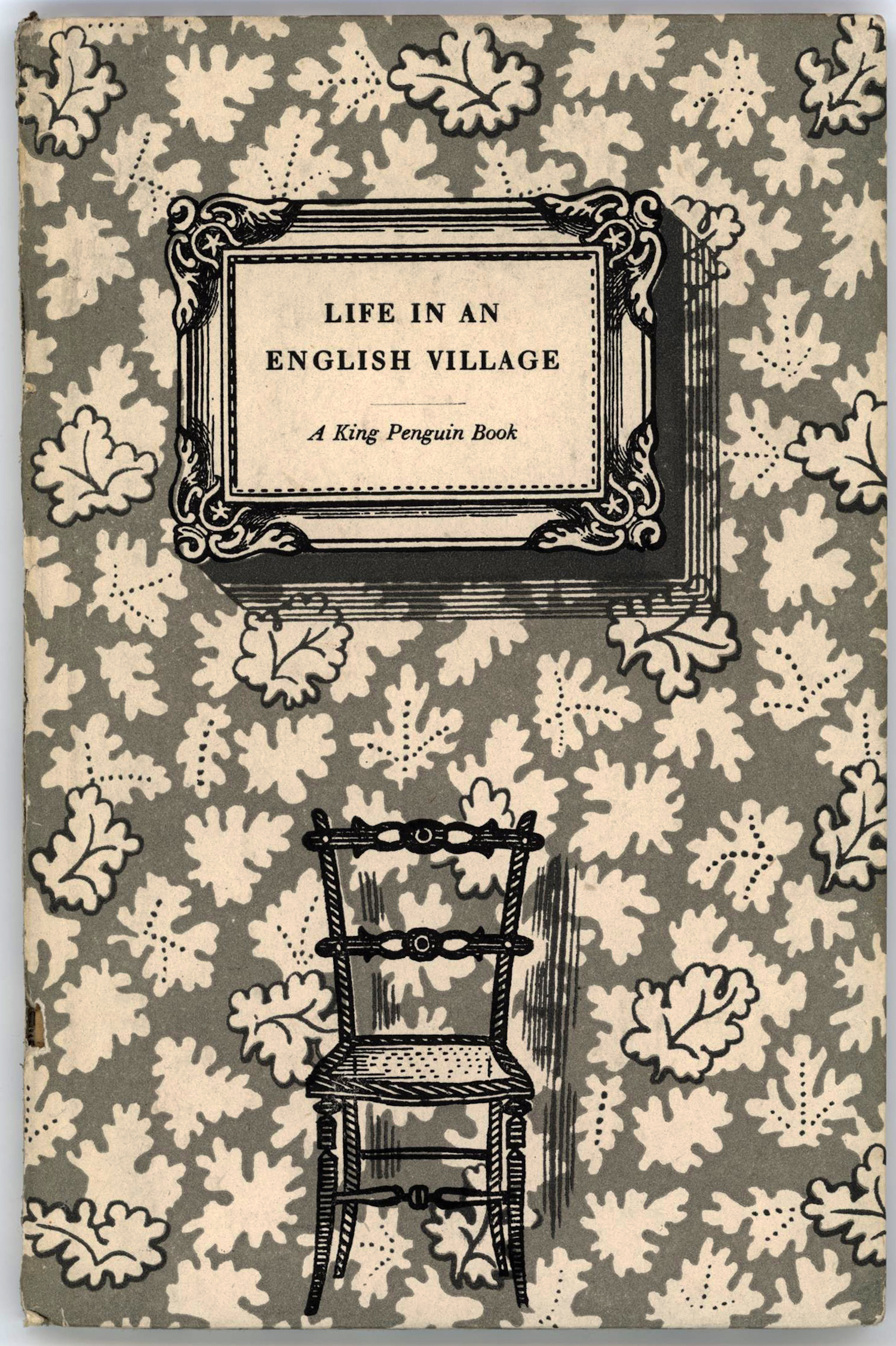 """Edward Bawden"" ""Life in an English Village"" King Penguin Books, number 51. 1949"