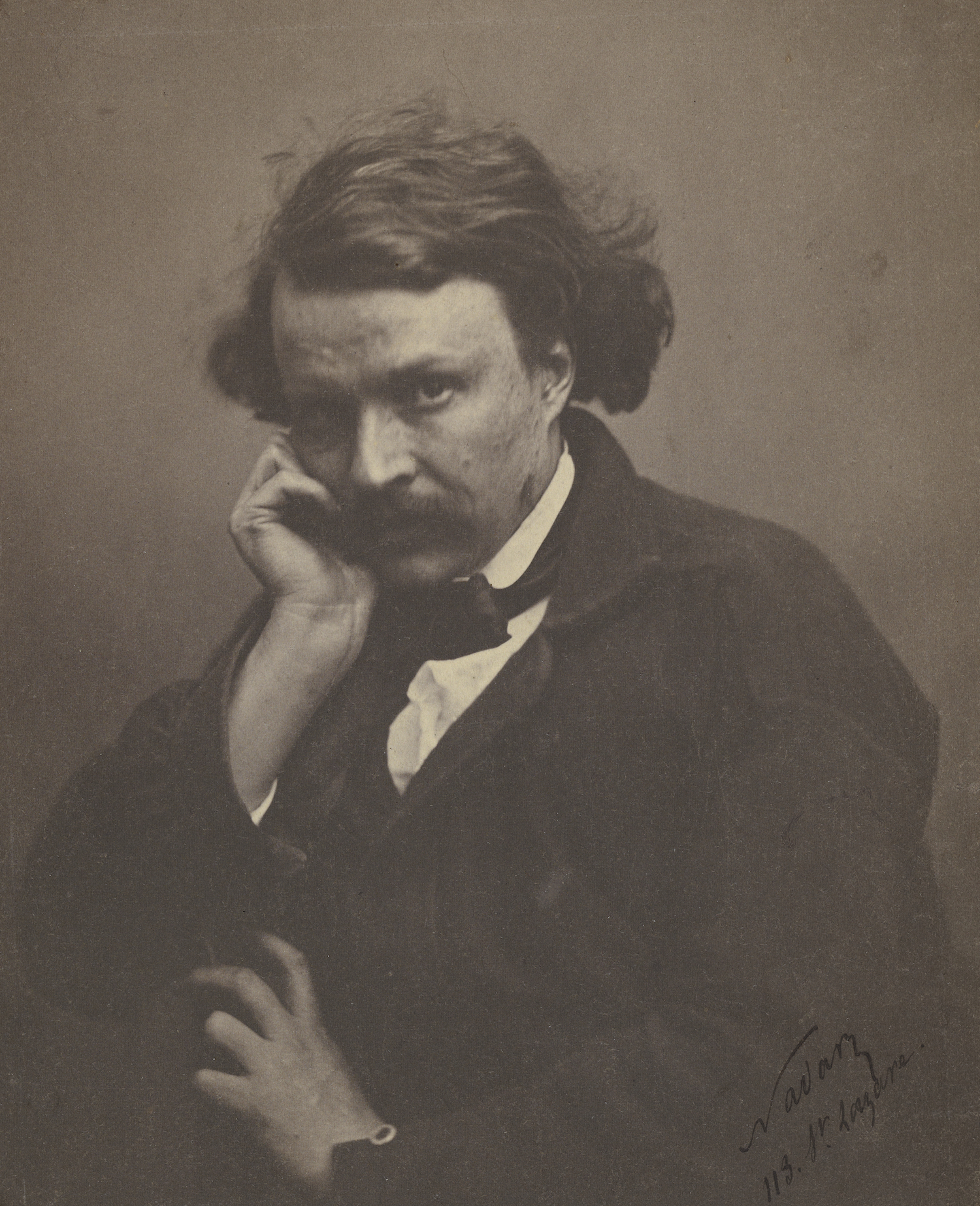 [Self-Portrait]; Nadar [Gaspard Félix Tournachon], French, 1820 - 1910; Paris, France, Europe; about 1855;
