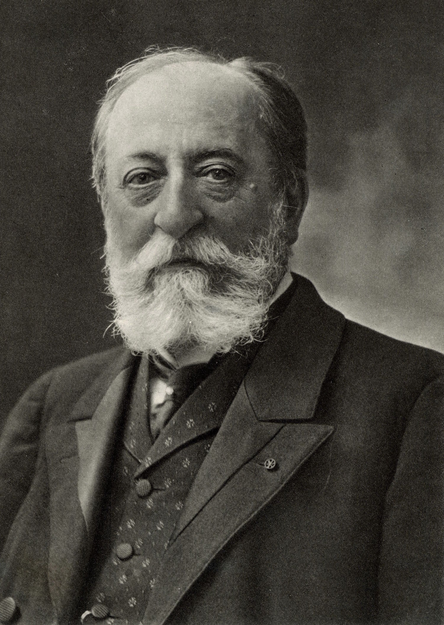 Camille Saint-Saens (1835-1921) French composer and organist. From a photograph by Nadar, pseudonym of Gaspard-Felix Tournachon (1820-1910). History