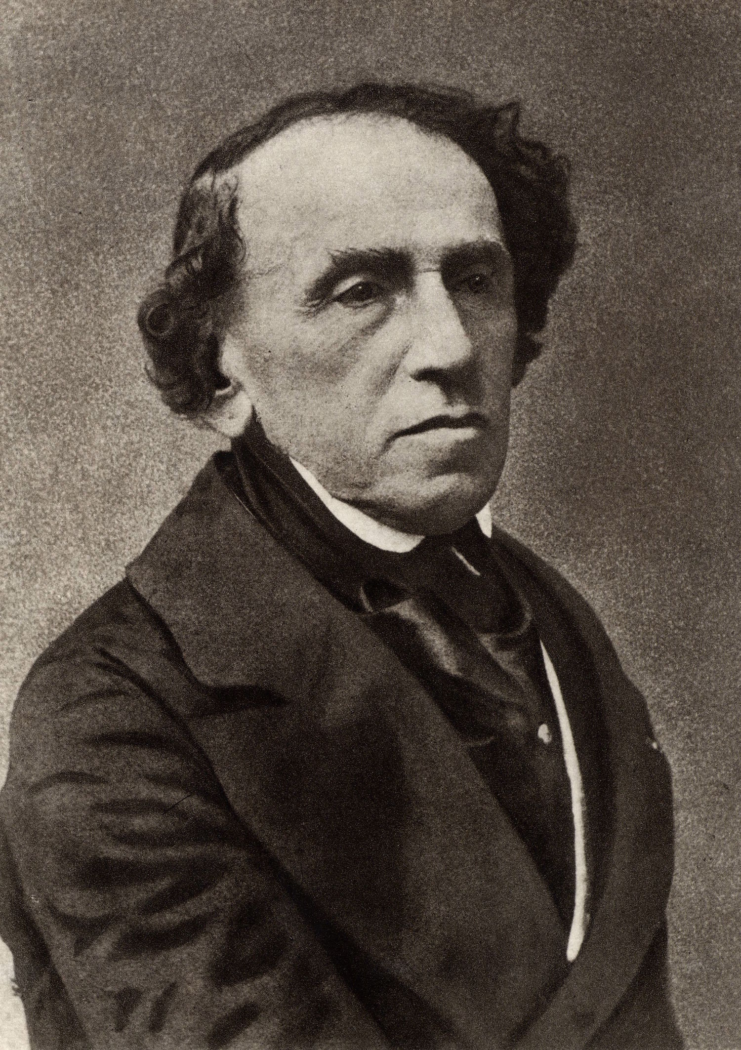 Giacomo Meyerbeer (1791-1864) (Jakob Liebmann Beer) German composer who settled in Paris and established himself as a foremost composer of Frrench grand opera. From a photograph by Nadar, pseudonym of Gaspard-Felix Tournachon (1820-1910). History