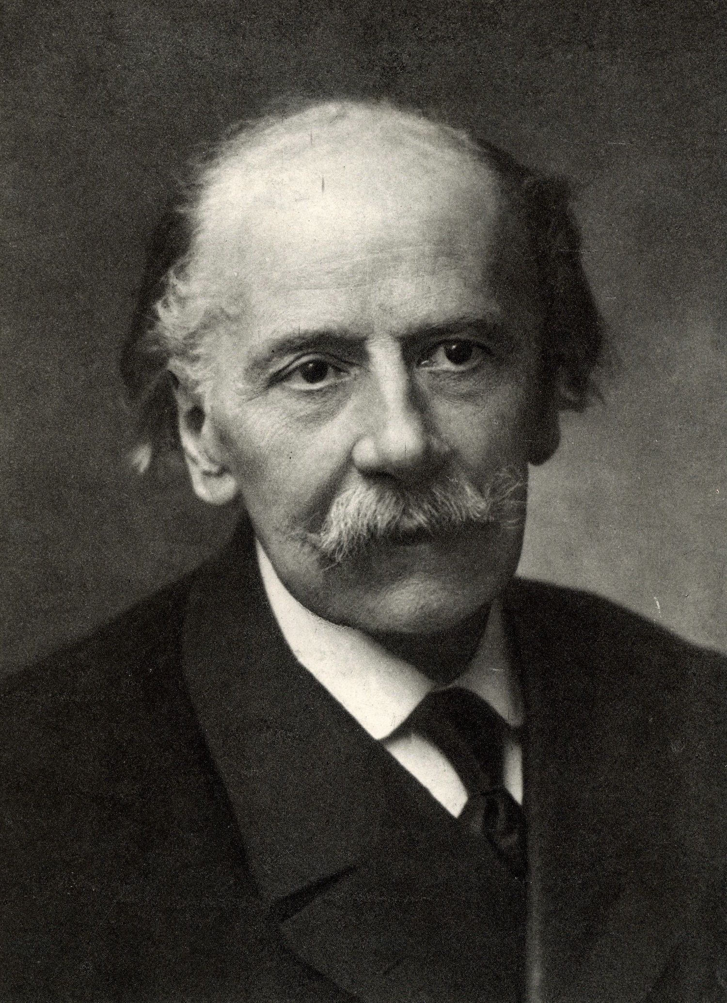 Jules (Emile Frederic) Massenet (1842-1912). French composer. From a photograph by Nadar, pseudonym of Gaspard-Felix Tournachon (1820-1910). History