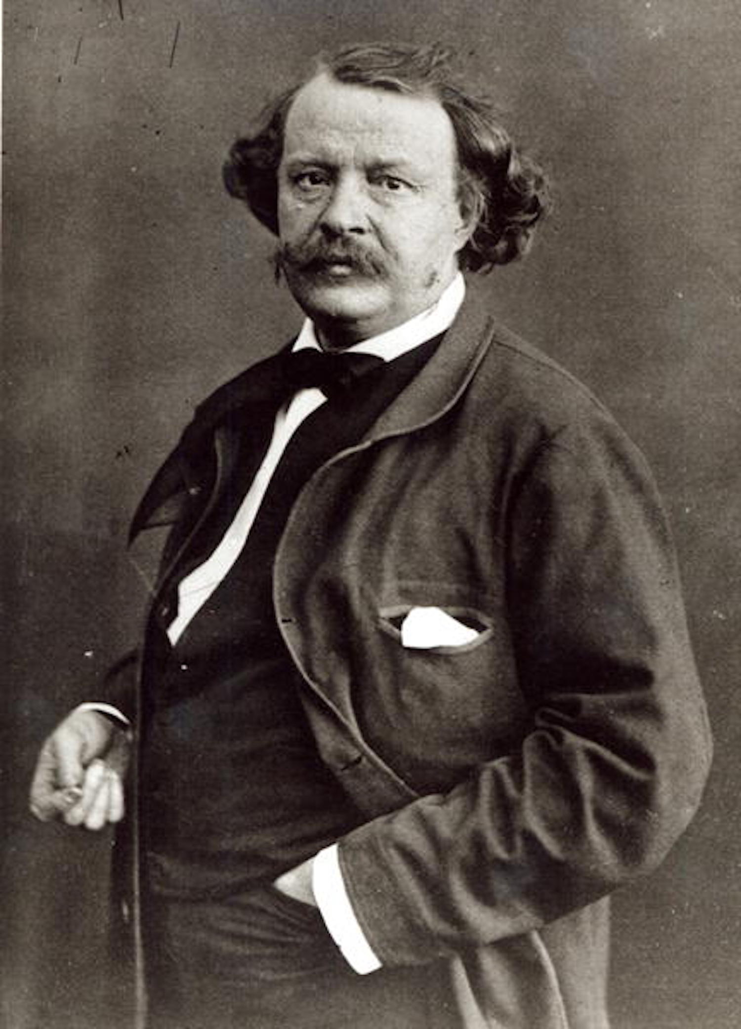 Felix Nadar, c.1860 (b/w photo) by Nadar, (Gaspard Felix Tournachon) (1820-1910)
