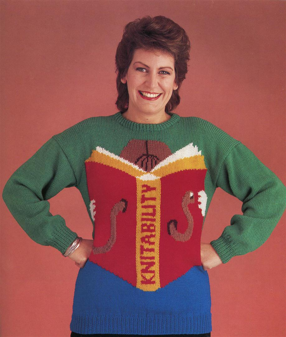 ugly jumpers sweaters 1980s